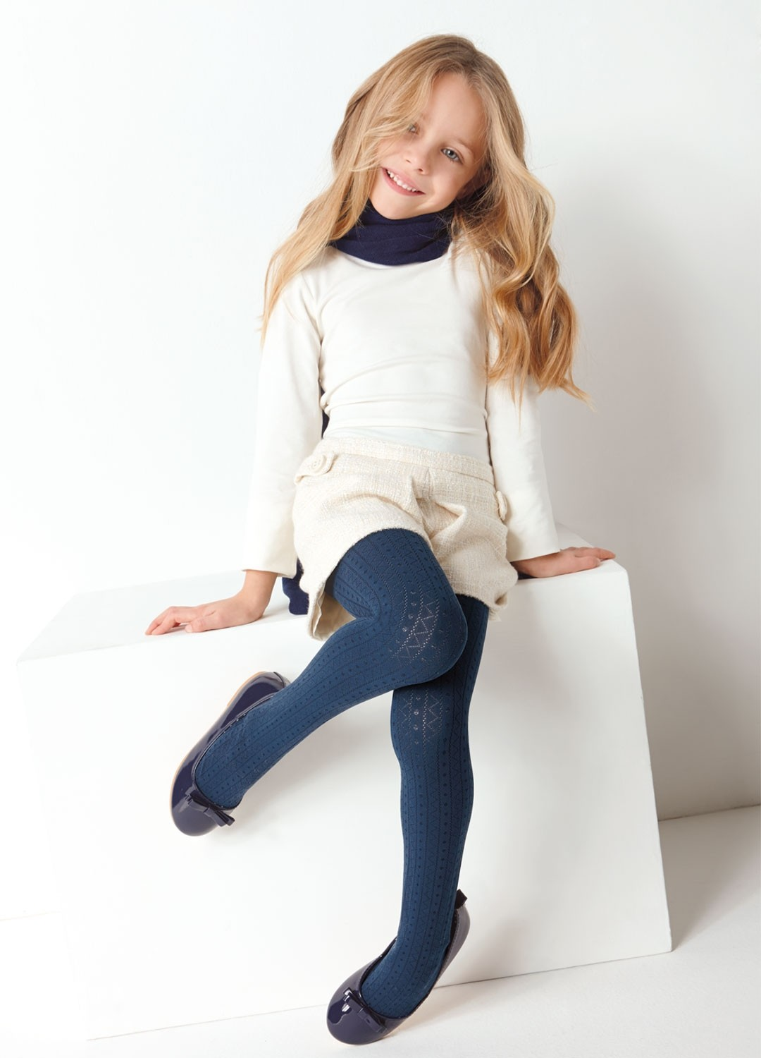 Children S Tights Micro Party Folle Past Collection